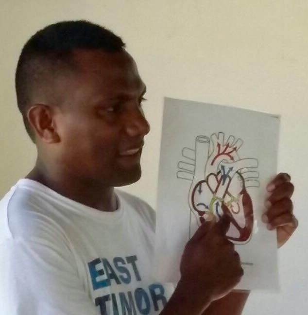 Maluk Timor working in conjunctions with 'East Timor Hearts Funds'