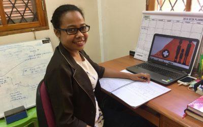 Stepping up: Dircia – HIV Team Leader
